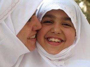 senyuman ibu