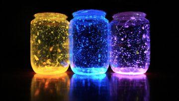 Dengan bahan  simple ini kamu dapat membuat  glow jar yang romantis