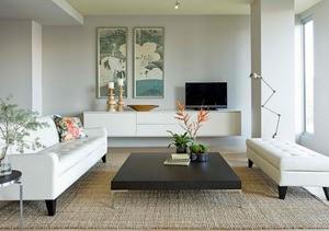 Gambar Desain Ruang Keluarga Minimalis Sederhana 35