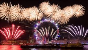 Tahun baru di london