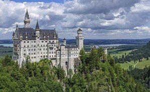 gambar kastil neuschwanstein
